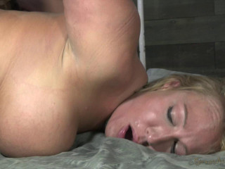 Thriving Mellanie Monroe made to worship BBC, penalizing deep throat, strapped and screwed sans mercy!