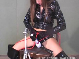 Sexy restrain bondage gag