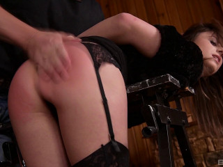 Gabriella Lati Bends Over His Workbench For A Spanking Before Anal - Full HD 1080p