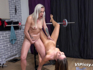 Brittany Bardot, Puppy - Pissy Workout