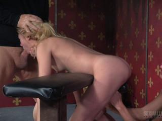 Part 2 of Odette Delacroix unbelievable live display