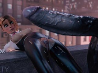 Spider-Gwen and Venom - HD 720p