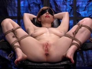 Adrianna Nicole Blondie Restraint Tabouret And Anal Transformer Aid Liana Nicole (2014)