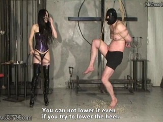 Devoted Masochist Slave Scream Training Trip