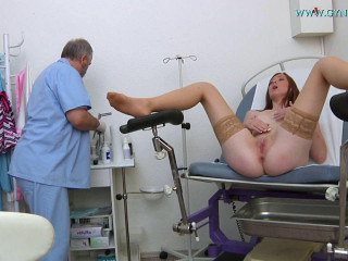 19 years girl gyno exam