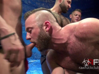 Aiden Hart Gang Bang - Part 1