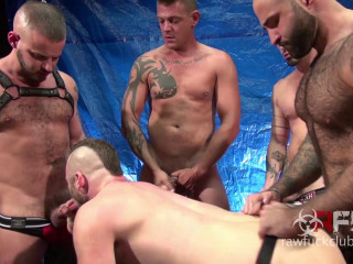 Aiden Hart Gang Bang Part 1