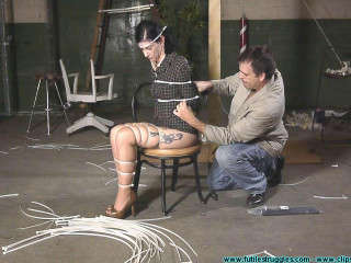 Employee Discipline Nyxon Rope Alternative 2 part - Extreme, Bondage, Caning