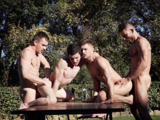 Klim Gromov & Ricky Verez Bottom for James Castle & Andrey Vic HD