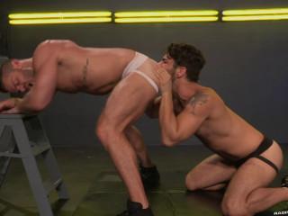 Cock Fight! (Landon Conrad, Adam Ramzi)