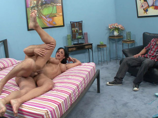 Clits Jade rails enormous bone for her cuckold husband