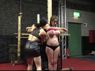 Zip Tie Breast Predicament for Muriel