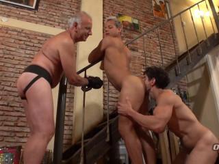 Older4Me - Bound Daddy Sex - Gerardo Mass, Hassan & Victorino 1080p