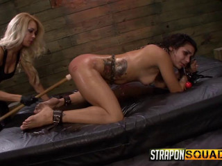 Asshook Dp BDSM Joy with Isa Mendez, Mila Blaze & Ava Kelly