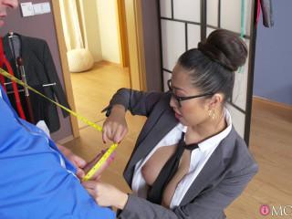 Sharon Lee - Big Facial for Big Tits Asian Beauty FullHD 1080p