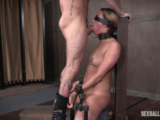 Julia Waters first ever pornography shoot. Brutish jaws fuckings, Anal fucking, with incredible restrain bondage