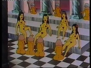 Pornography cartoon