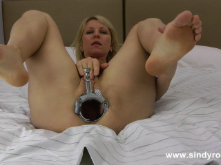 Sindy Speculum Anal Extreme Fisting And Prolapse