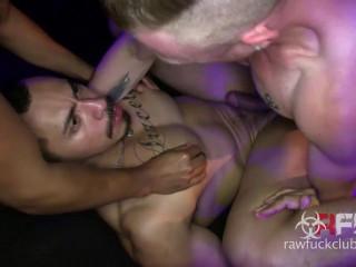 RawFuckC - Romero Santos, Saxon West, Xavier Arroyo