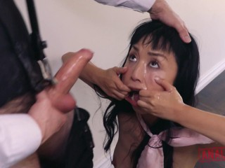 Asian Slut Marica Hase Comes Out of the Closet for Cock