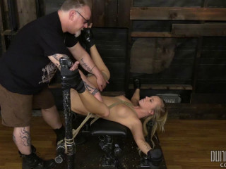 Curvy Bailey Bratty In Restrain bondage Part 4