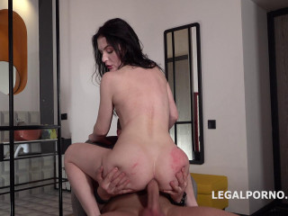 Anal Casting With Tight Babe Elley
