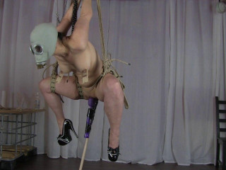 Suspension With Gas Mask 2