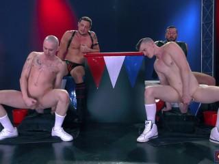 Hugh Hunter, Axel Abysse, Joey d, Sam