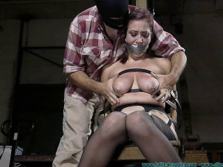 Hooter Torment for Riley Jane 2 part - BDSM, Humiliation, Torment HD-720p