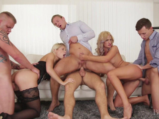 BiEmpire Want to attempt a Ambisexual Orgy? - Sweet Cat, Nicole Vice, Mark Black, Paul Fresh & Jace Reed