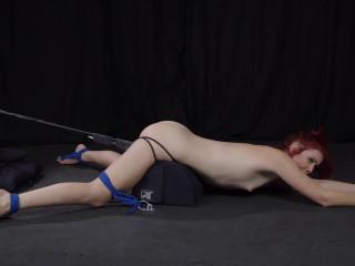 Elle Alexandra - Struggling to Spunk In Restrain bondage - Utter HD 1080p