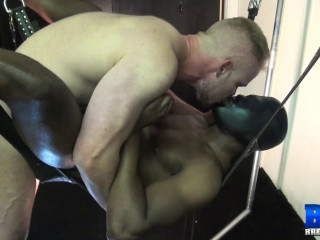 Pummel Dark-hued Whore In Mask