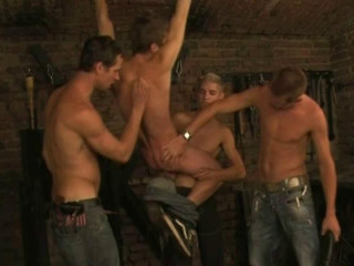 Piss Gangbang & Spanked All Night