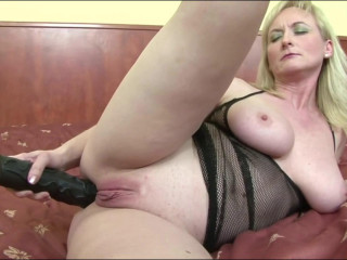 Bitch Blonde Monica anal invasion opening up