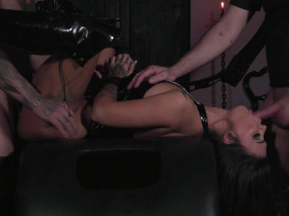 Susy Gala - Threesome in a Dungeon (2019)