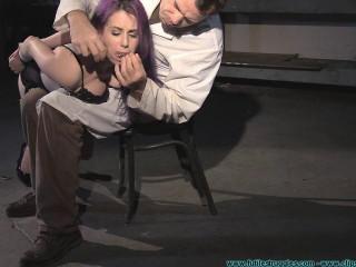 A Long Day of Hard Bondage for Rachel 5 - Dr. Straps (Valora) Disciplined - Part 1