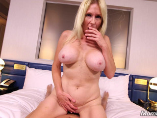 Adria - Gorgeous Blonde Milf First Timer
