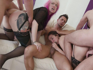 Take No Prisoners Group sex with Proxy & Francys
