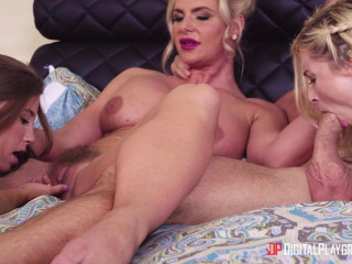 Carolina Sweets, Phoenix Marie & Piper Perri - My Best Friend's Parents