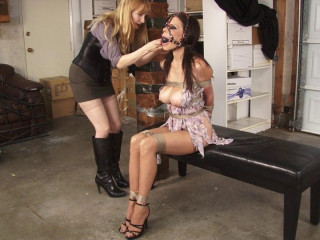 Bench Bondage Behind the Scenes with Ashley Renee