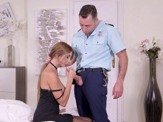 Marilyn Crystal - Foot Fetish Fucking Cop FullHD 1080p