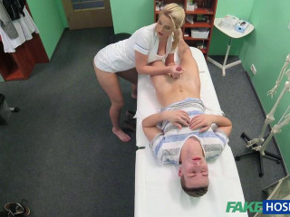Stud caught giving nurse a creampie - 01.01.16