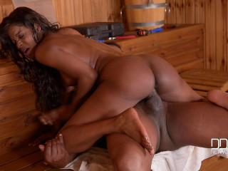 Jasmine Webb - His Bbc Makes Her Wet And Molten (2016)