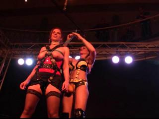 Supertightbondage -The Bondage Mistress meets Bettine