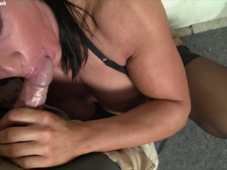 Bella Monet - Jizz On Her Face Gets Her So Hot, She Has To Dump