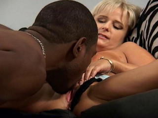 Horny blond cougar