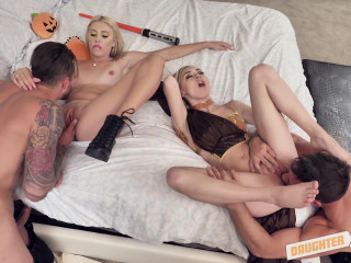 Chanel Grey, Chloe Temple - Turning Our  To The Dark Side