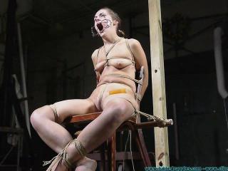 Nude Chair Tie For Rachel - Scene 2 - HD 720p