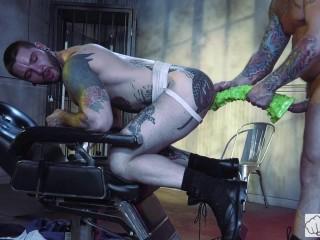 Dr. FrankenFuck's Fist Lab, Scene 1