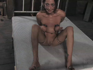 Then she's caned and vibed to come, throttling just a tiny more, and then a tiny more